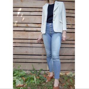 Vintage cream blazer